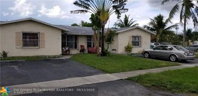 Lauderhill Multi Family Home For Sale: 5861 NW 19th Ct