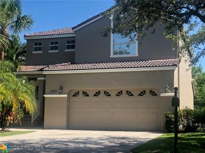 Coral Springs Single Family Home For Sale: 11711 NW 1st St