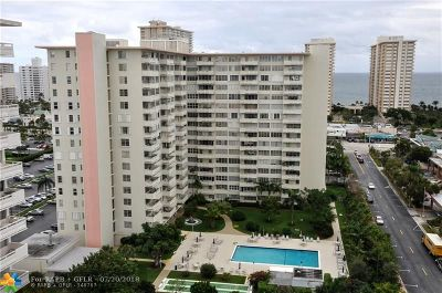 Fort Lauderdale Condo/Townhouse For Sale: 3333 NE 34th St #1211