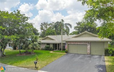 Coral Springs Single Family Home For Sale: 8788 NW 49th Dr
