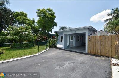 Pompano Beach FL Single Family Home For Sale: $369,500
