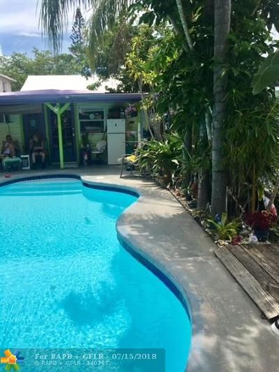 Lake Worth Single Family Home For Sale: 124 N F St