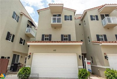 Fort Lauderdale Condo/Townhouse For Sale: 415 SE 13th St #415
