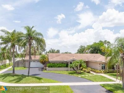 Weston Single Family Home For Sale: 500 SW 168th Ter