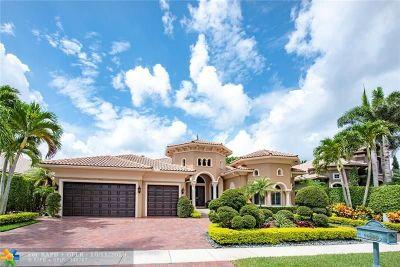 Plantation Single Family Home For Sale: 11000 Blue Palm St