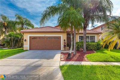 Pembroke Pines Single Family Home For Sale: 18011 SW 12th Ct