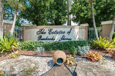 Pembroke Pines Single Family Home Backup Contract-Call LA: 15965 SW 4th St