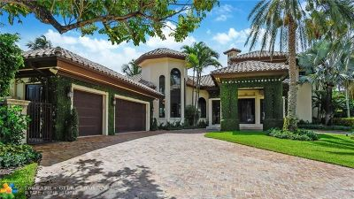 Fort Lauderdale Single Family Home For Sale: 400 Royal Plaza Drive