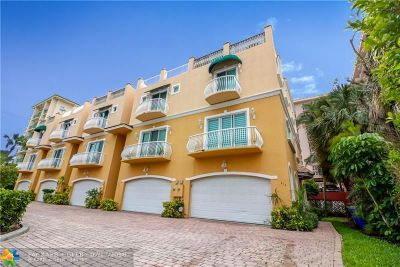 Pompano Beach Rental For Rent: 414 Sunset Drive #414