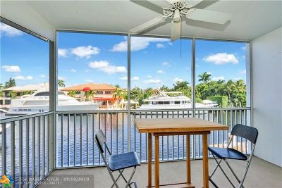 Fort Lauderdale Condo/Townhouse For Sale: 1332 Bayview Dr #201