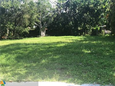 Fort Lauderdale Residential Lots & Land For Sale: 409 SW 11th St