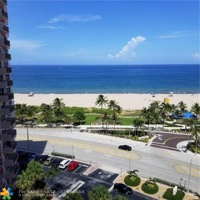 Pompano Beach Condo/Townhouse For Sale: 405 N Ocean Bl #1118