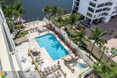 Fort Lauderdale Condo/Townhouse For Sale: 2670 E Sunrise Blvd #907