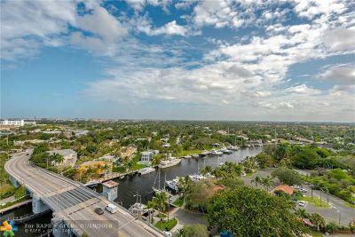 Fort Lauderdale Condo/Townhouse For Sale: 600 W Las Olas Blvd #1501S