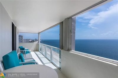 Pompano Beach FL Condo/Townhouse For Sale: $610,000