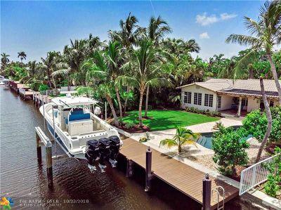 Fort Lauderdale Single Family Home For Sale: 206 N Gordon Rd