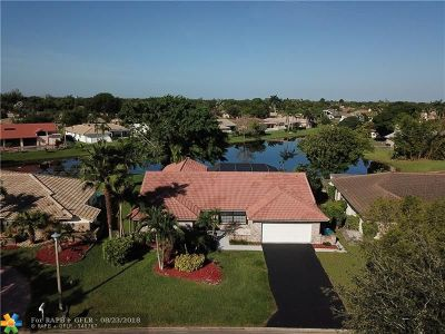 Coral Springs Single Family Home For Sale: 10962 NW 4th St