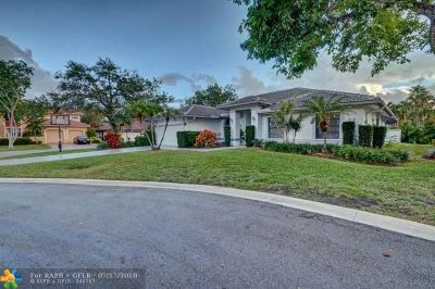 Coral Springs Single Family Home For Sale: 2100 Oakmont Ter