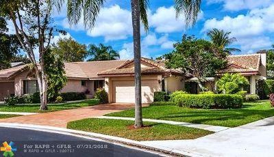 Boca Raton Single Family Home For Sale: 10763 Santa Laguna Dr
