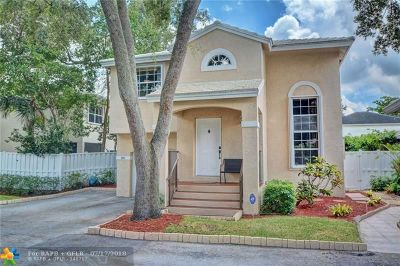 Plantation Single Family Home Backup Contract-Call LA: 9880 NW 2nd Court