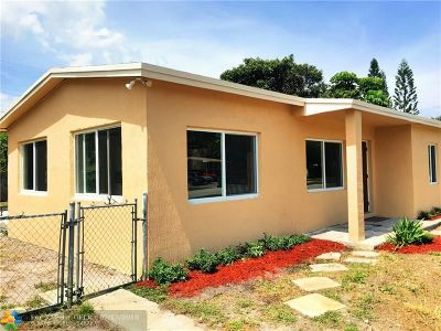 Lauderhill Single Family Home For Sale: 3411 NW 7th Ct