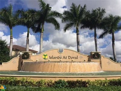 Doral Condo/Townhouse For Sale: 8439 NW 108th Pl #8439