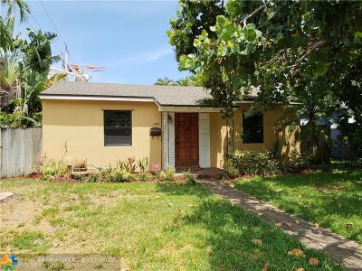 Fort Lauderdale Single Family Home For Sale: 1444 NE 2nd Ave