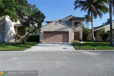 Coconut Creek Single Family Home For Sale: 3802 NW 23rd Mnr