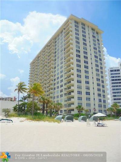 Condo/Townhouse For Sale: 3550 Galt Ocean Drive #1001