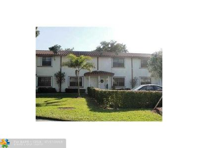 Coral Springs Rental For Rent: 11624 NW 35th Ct #C1