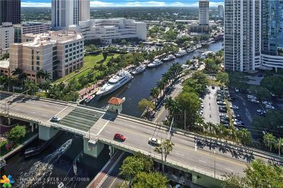 Fort Lauderdale Condo/Townhouse For Sale: 347 N New River Dr #2606
