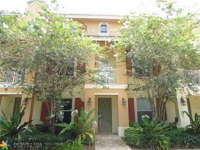 Coconut Creek Rental For Rent: 3913 Monarch Ln #3913
