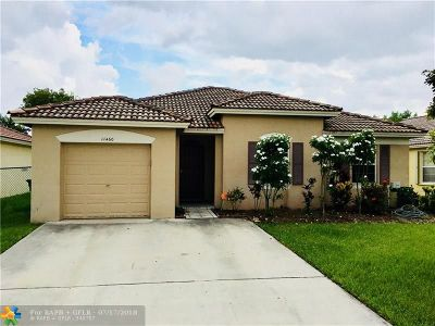 Miramar Single Family Home For Sale: 11460 SW 20th St