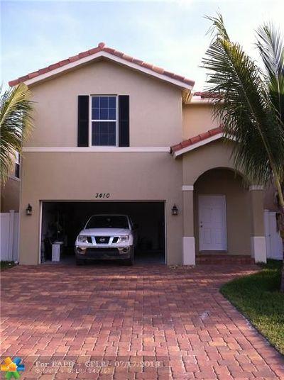 Palm Springs Single Family Home For Sale: 3410 N Elizabeth Pl N
