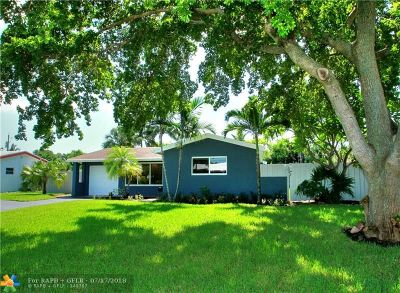 Oakland Park Single Family Home For Sale: 4420 NE 15th Ter