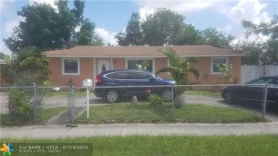 Miami Gardens Single Family Home For Sale: 4397 NW 199th St