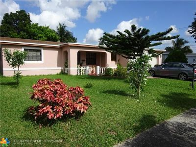 Lauderdale Lakes Single Family Home For Sale: 4301 NW 32nd Ave