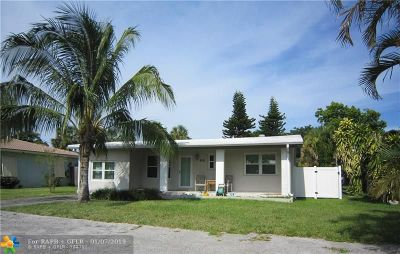 Dania Beach Single Family Home For Sale: 826 NW 6th Ave