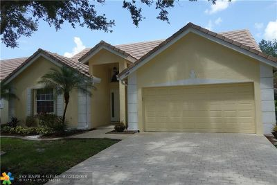 Coral Springs Single Family Home For Sale: 1980 NW 127th Ter