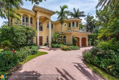 Fort Lauderdale Single Family Home For Sale: 2614 Castilla Isle