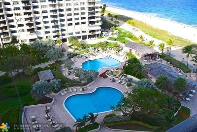 Lauderdale By The Sea Condo/Townhouse For Sale: 4900 N Ocean Blvd #1506