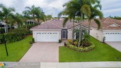 Boynton Beach Single Family Home For Sale: 9824 Lemonwood Way