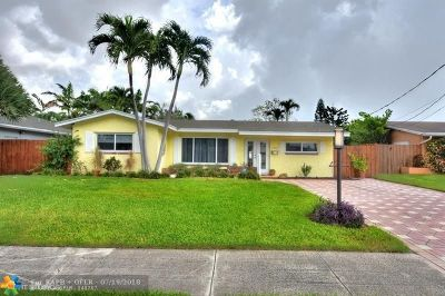 Oakland Park Single Family Home Backup Contract-Call LA: 1757 NW 36th Ct