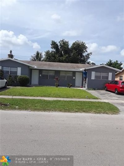 Lauderhill Multi Family Home Backup Contract-Call LA: 5400 NW 16th Ct