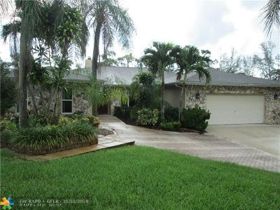 Parkland Single Family Home For Sale: 5754 NW 65th Ter