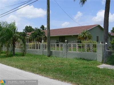 Miami Single Family Home For Sale: 17191 NW 18th Ave