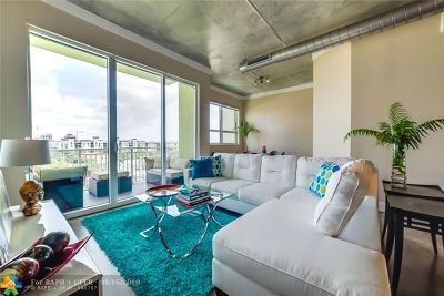 Fort Lauderdale Condo/Townhouse For Sale: 313 NE 2nd St #605