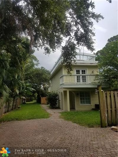 Fort Lauderdale FL Single Family Home For Sale: $469,000