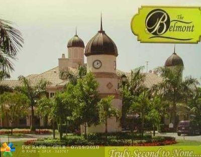 North Lauderdale Condo/Townhouse For Sale: 1009 Belmont Lane #1009