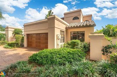 Deerfield Single Family Home For Sale: 540 Via Genova
